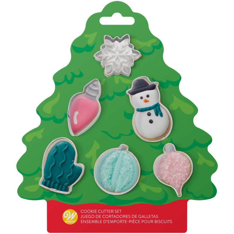 Mini Christmas Cookie Cutter Set, 6-Piece image number 2