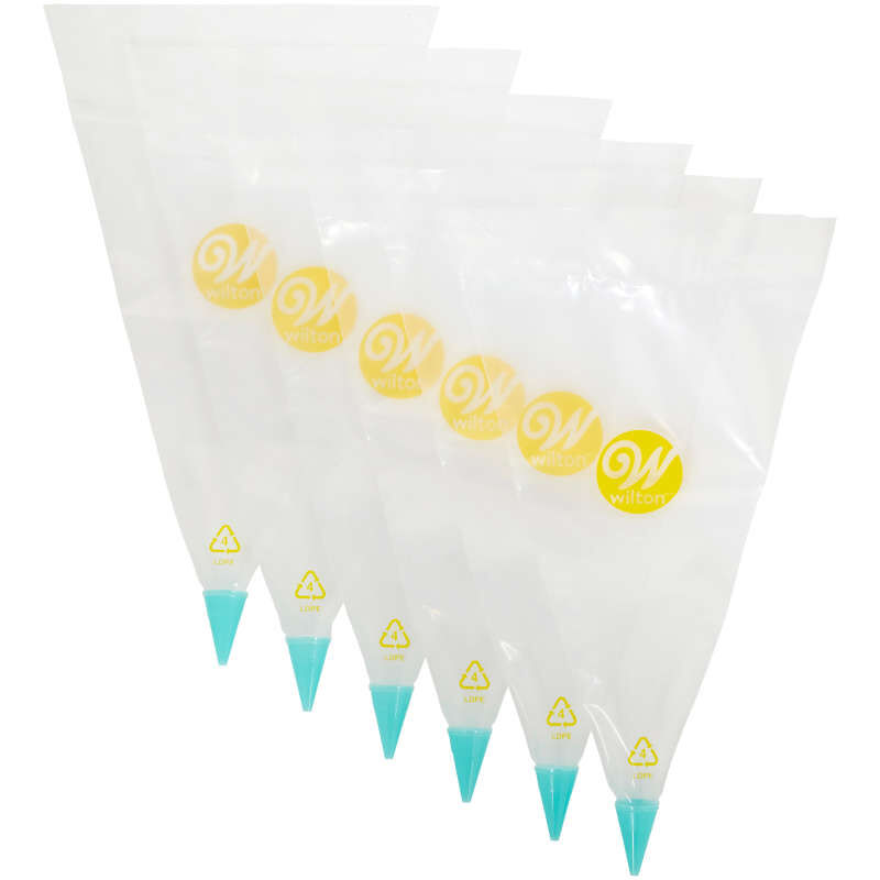 All-in-One Decorating Bag with #3 Round Tip image number 0