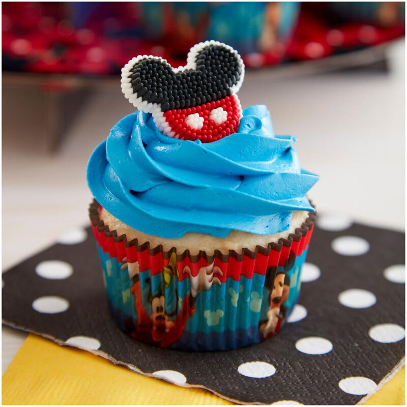 Mickey and The Roadster Racers Birthday Cupcakes Party Pack, 8-Piece image number 5