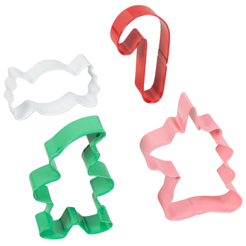 Winter Candyland Cookie Cutter Set, 4-Count image number 1