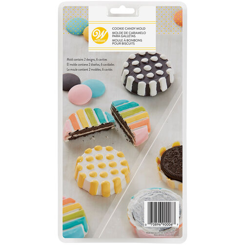 Dots & Stripes Cookie Candy Mold
