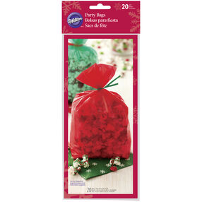 Red and Green Treat Bag