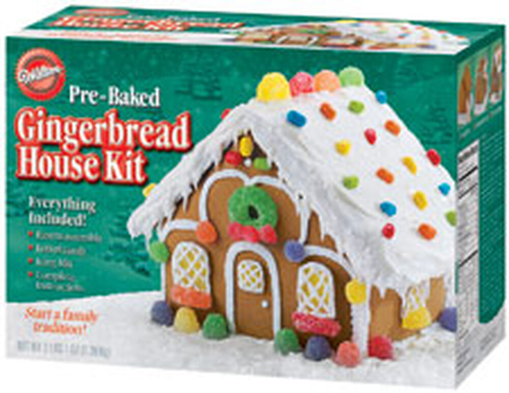 gingerbread house kits pre baked gingerbread house kit wilton 30431