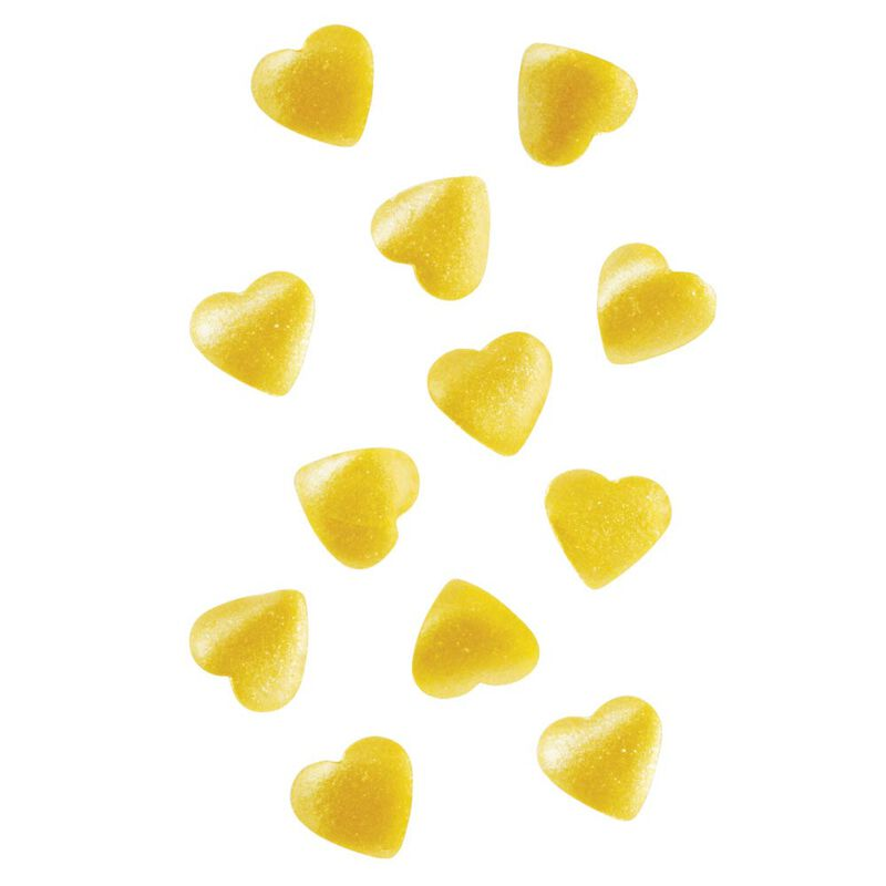 Gold Heart Edible Accents, 0.06 oz. - Cake Decorating Supplies image number 3