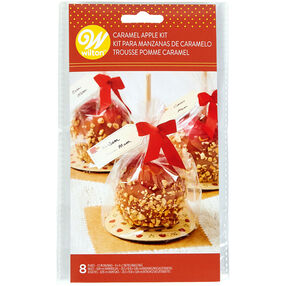 Caramel Apple Treat Bag Kit, 8-Count