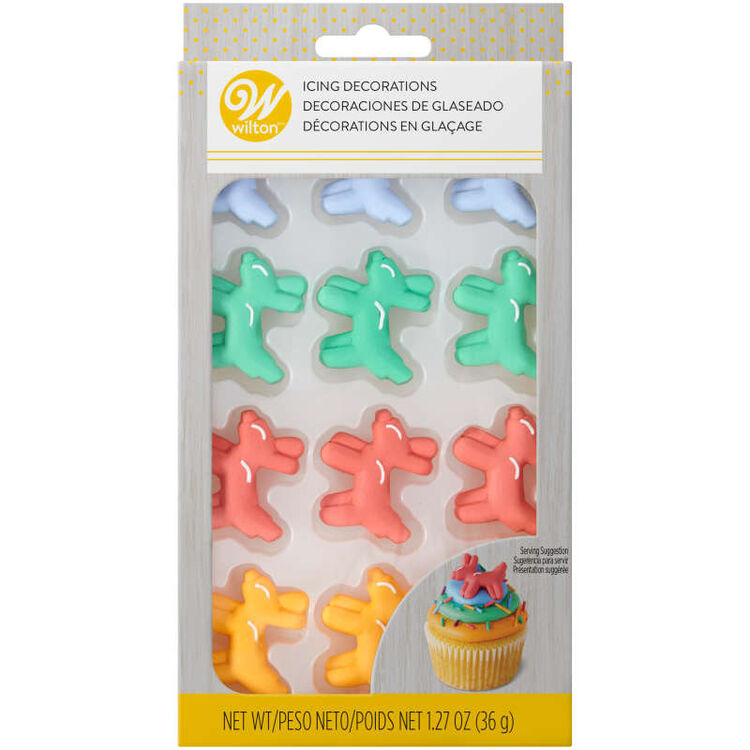 Balloon Dog Icing Decorations, 12-Count
