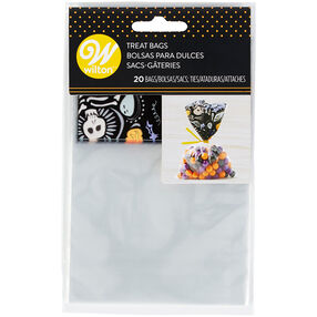 Halloween Paisley Spooky Mini Party Bags, 20-Count