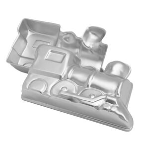 Train Cake Pan, 2-Piece Kids Birthday Cake Pan