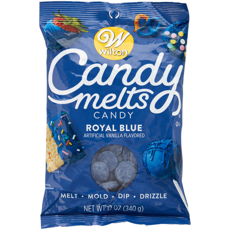 Royal Blue Candy Melts Candy in Packaging image number 0