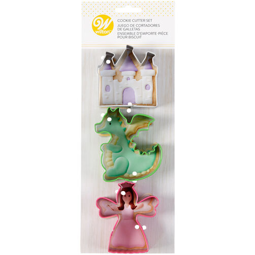 Fairy Tale Cookie Cutter Set, 3-Piece