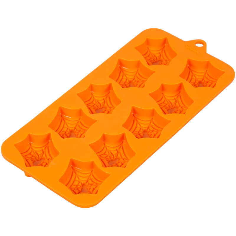 Halloween Spider Web Silicone Treat Mold, 12-Cavity image number 3