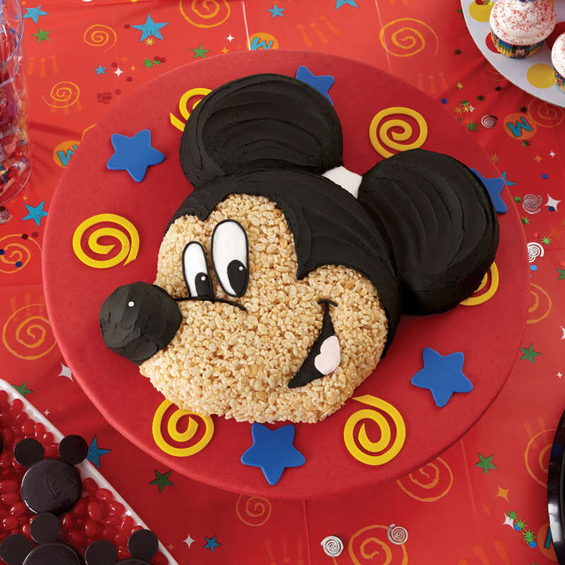 Aluminum Mickey Mouse Cake Pan image number 3