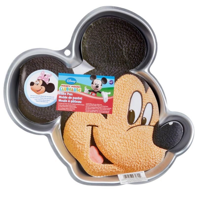 Aluminum Mickey Mouse Cake Pan image number 1