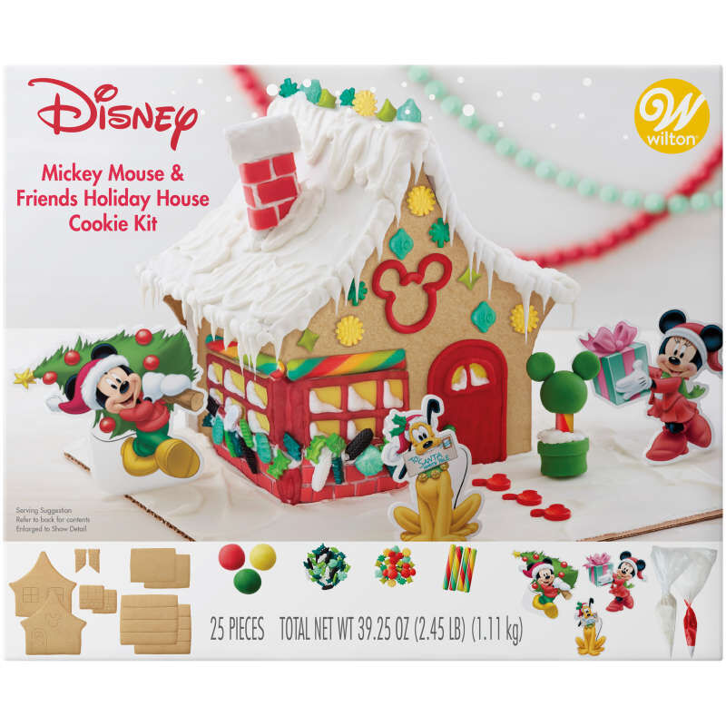 Disney Mickey Mouse and Friends Holiday House Cookie Kit image number 0