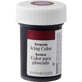 Burgundy Gel Food Coloring Icing Color