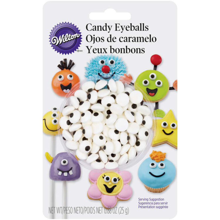 Edible Candy Eyeballs, 0.88 oz.