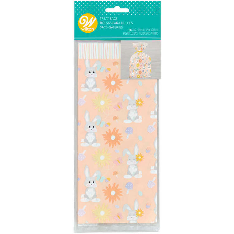 Easter Bunny Treat Bags, 20-Count