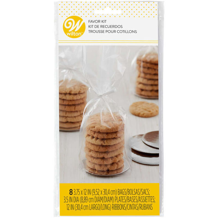 Mini Cookie Favor Kit In Packaging