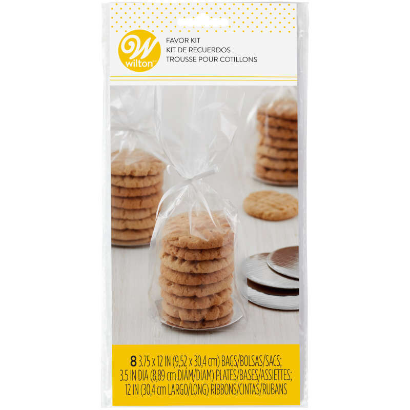 Mini Cookie Favor Kit In Packaging image number 0