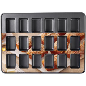 Mini Loaf Pan, 18-Cavity
