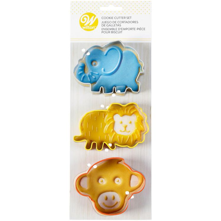Safari Cookie Cutter Set, 3-Piece