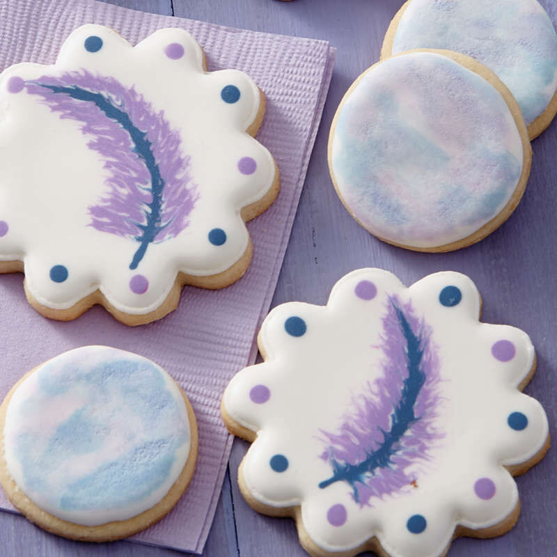 """""""I Taught Myself To Decorate Cookies"""" Cookie Decorating Book Set - How To Decorate Cookies image number 5"""