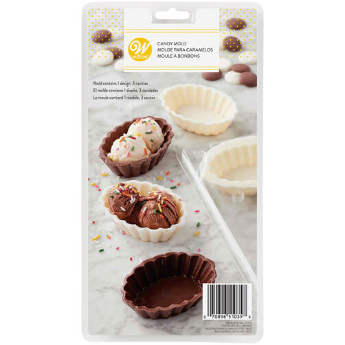 Dessert Shells Candy Molds