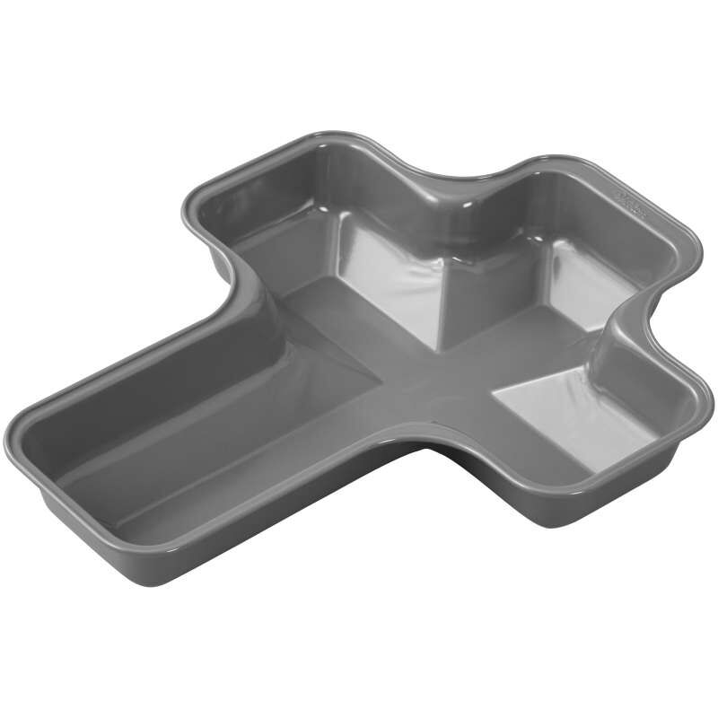 Treats Made Simple Non-Stick Cross Cake Pan image number 3