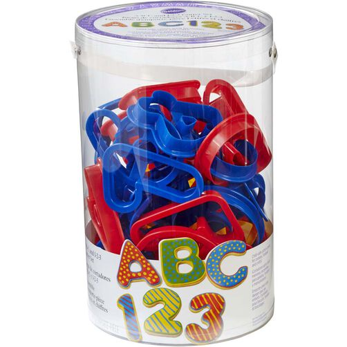 ABC 123 Cookie Cutters