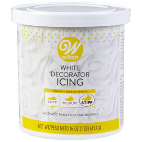 White Decorator Icing, 16 oz.