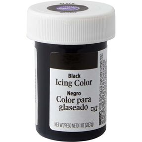 Black Gel Food Coloring Icing Color