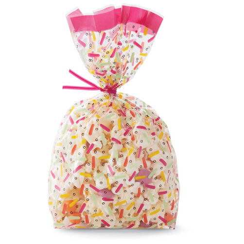 Sprinkles Clear Party Bag, 20CT