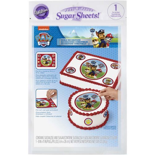 PAW Patrol Edible Images Cake Decorating Kit