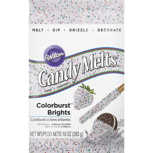 Bright Colorburst Candy Melts Candy Wilton