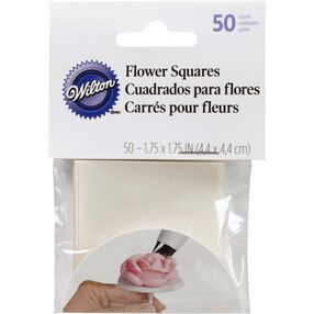 Pre-cut Icing Flower Making Squares