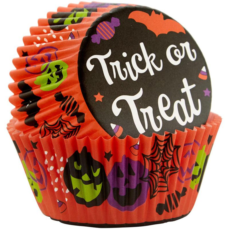 Trick or Treat Halloween Standard Cupcake Liners, 75-Count image number 2