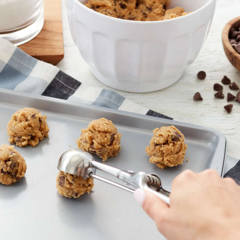 Stainless Steel Small Cookie Scoop image number 4