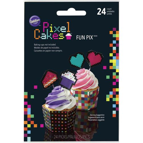 Pixel Cakes Fun Pix in packaging