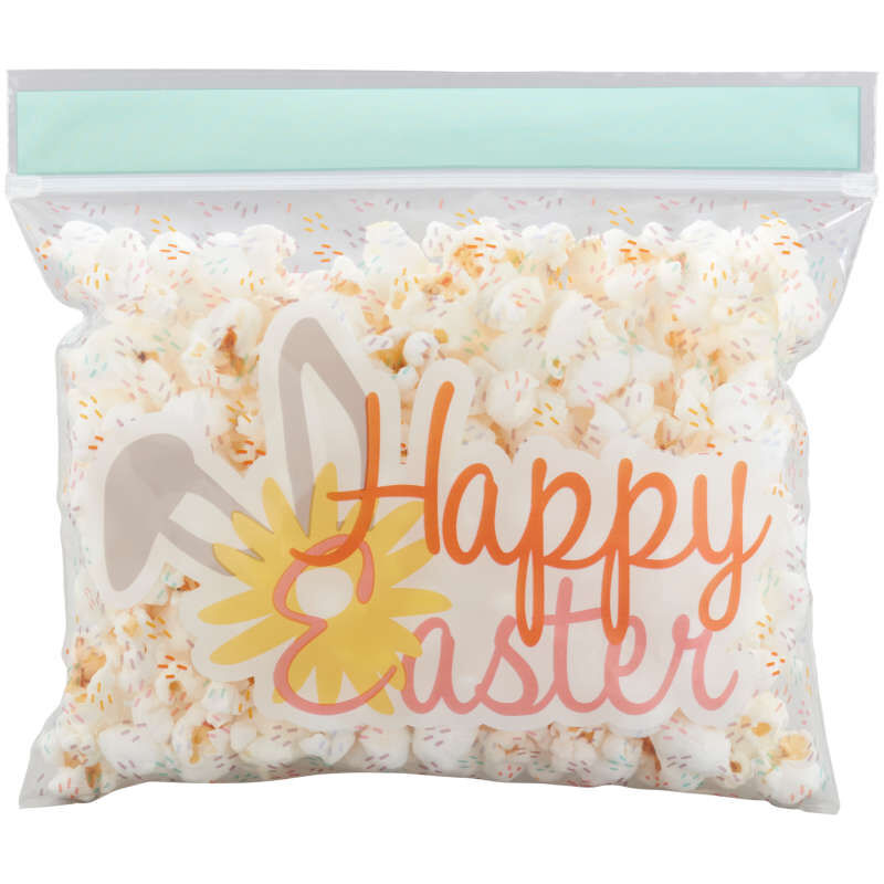 Happy Easter Resealable Treat Bags, 20-Count image number 2