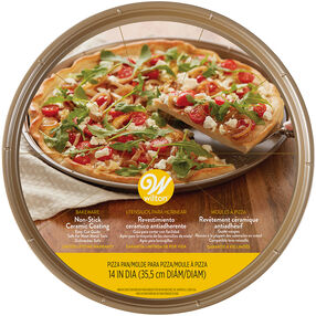 Ceramic Non-Stick Pizza Pan, 14-Inch