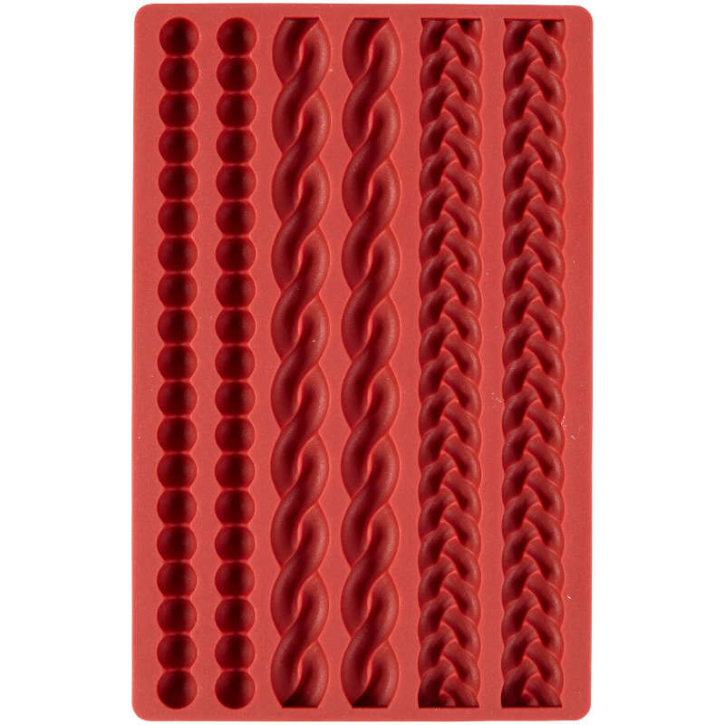 Silicone Pie Crust Mold, 6-Cavity image number 1