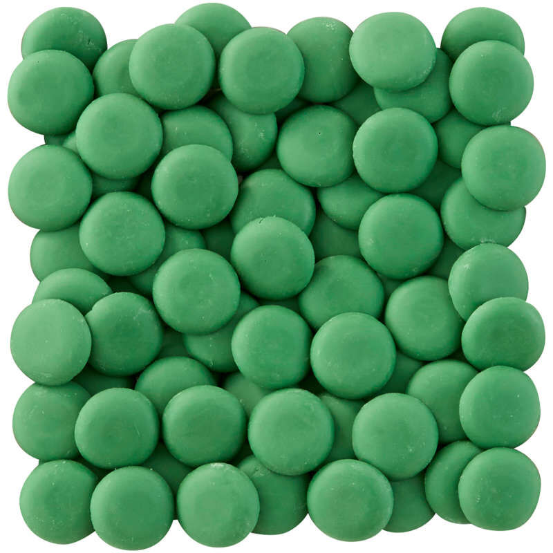 Dark Green Candy Melts Candy Wafers image number 1