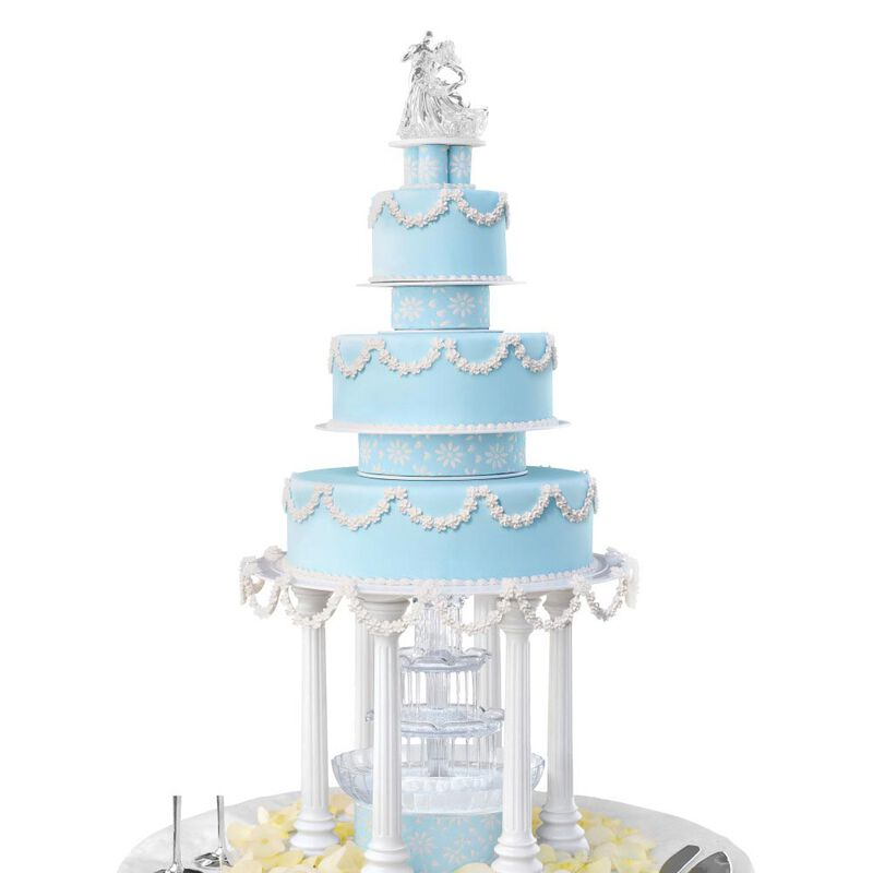 Roman Column Tiered Wedding Cake Stand, 8-Piece image number 3