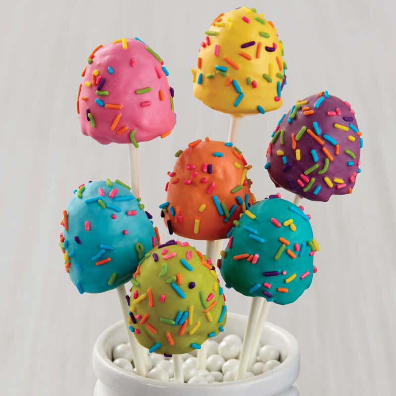 Brownie Pops Silicone Brownie and Cake Pop Molds Pan, 8-Cavity image number 2