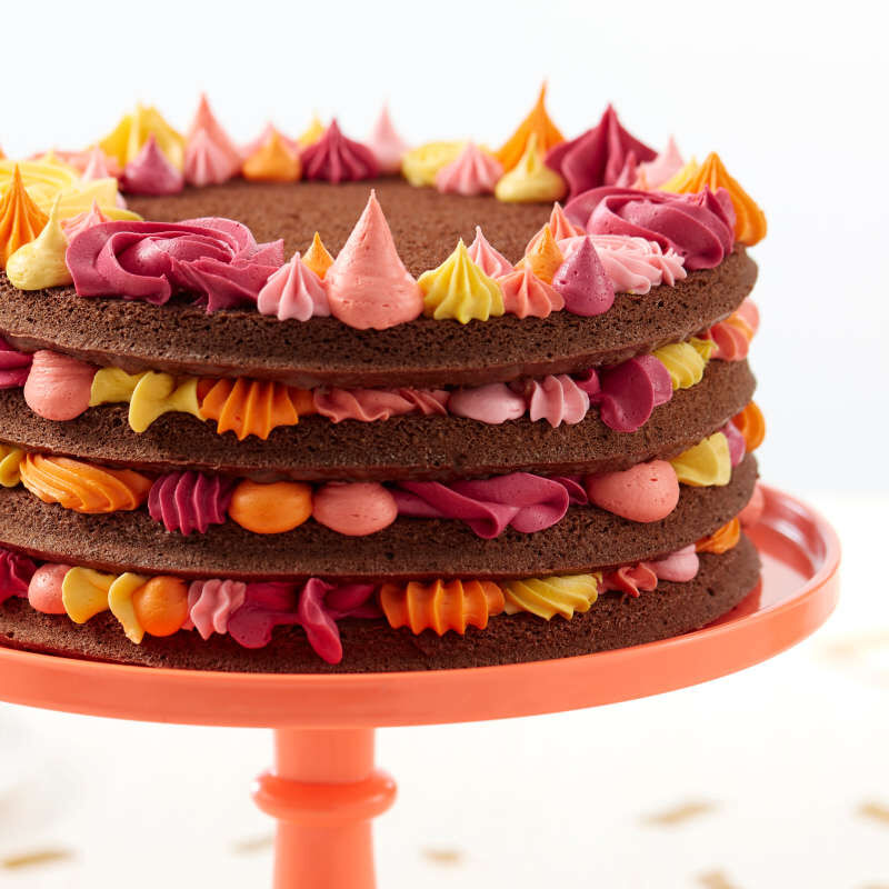Easy Layers! Round Layer Cake Pans Set,  4-Piece image number 4