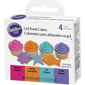 Wilton Bright Gel Food Color Set