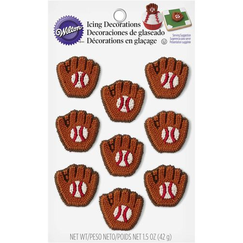 Wilton Baseball Mitt Candy Decorations