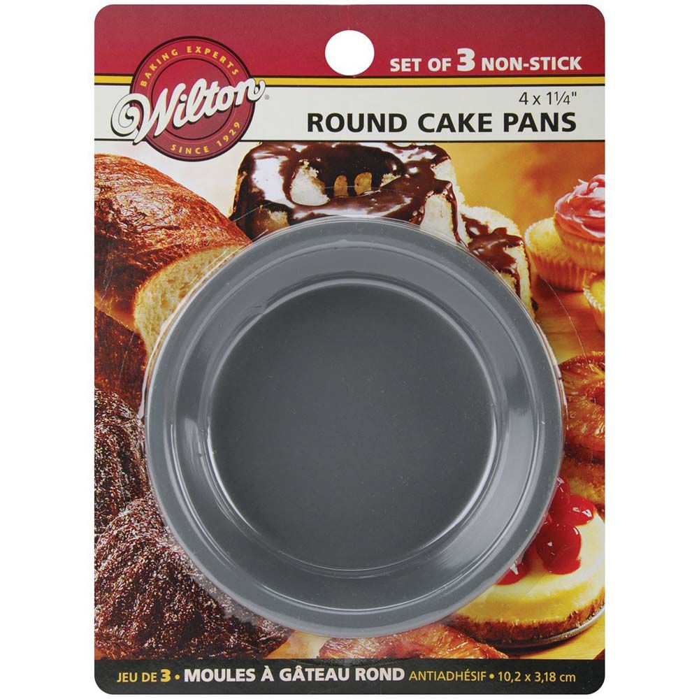 Mini Round Cake Pan Set Wilton
