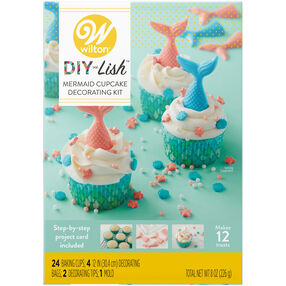 DIY-Lish Mermaid Cupcake Kit