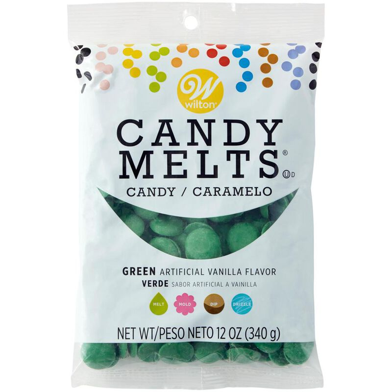 Dark Green Candy Melts Candy Wafers in Packaging image number 2